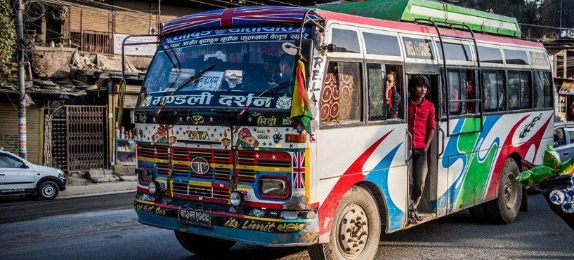 Katmandou bus