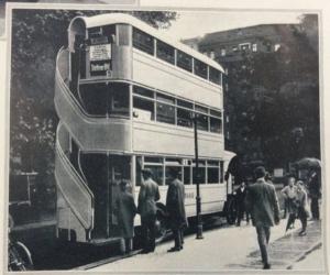 Triple-decker bus